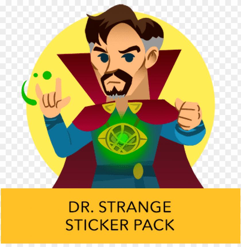 free PNG disney stickers - dr - strange - telegram sticker dr strange PNG image with transparent background PNG images transparent