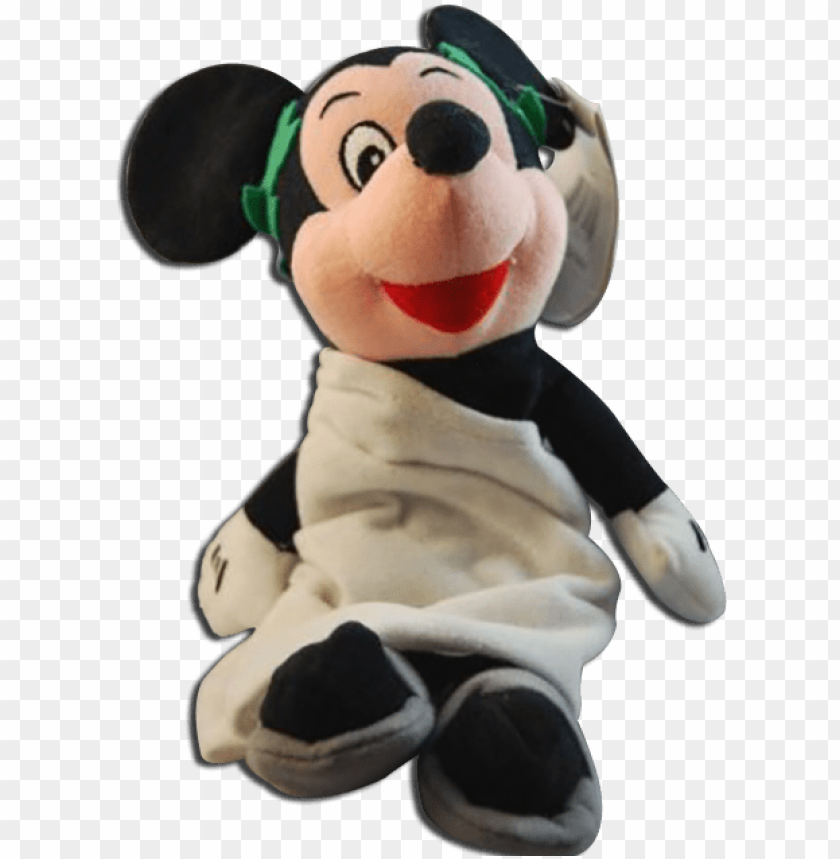 free PNG disney store mickey mouse bean bag plush toga roman - disney - mickey mouse toga bean ba PNG image with transparent background PNG images transparent