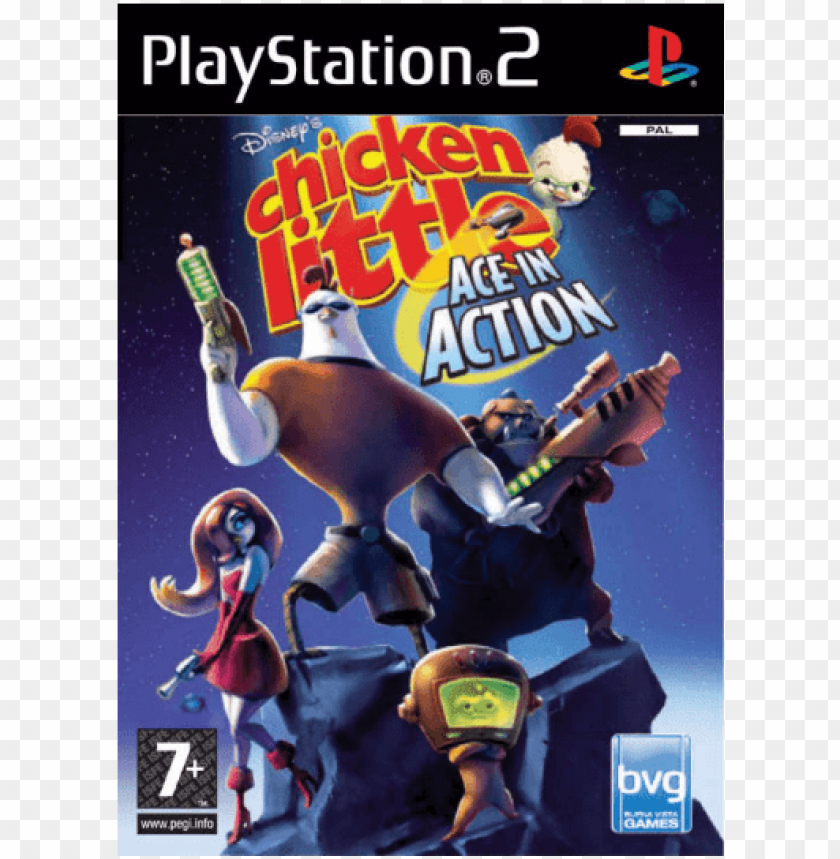 free PNG disneys chicken little ace in action [ps2, Английская - chicken little ace in action wii PNG image with transparent background PNG images transparent