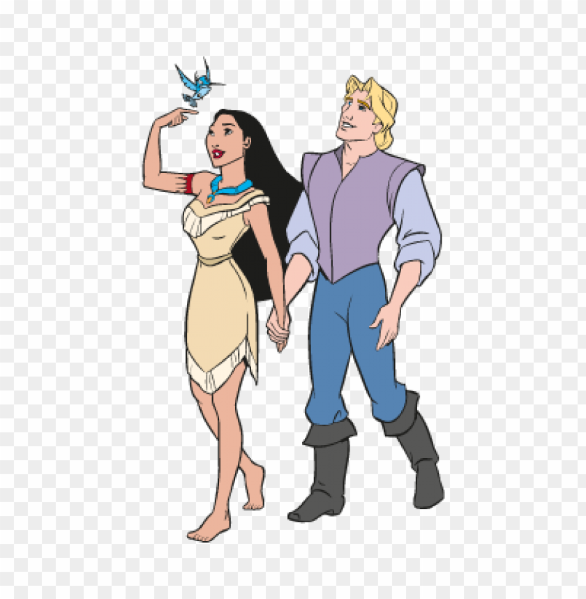 free PNG disney's pocahontas vector PNG images transparent