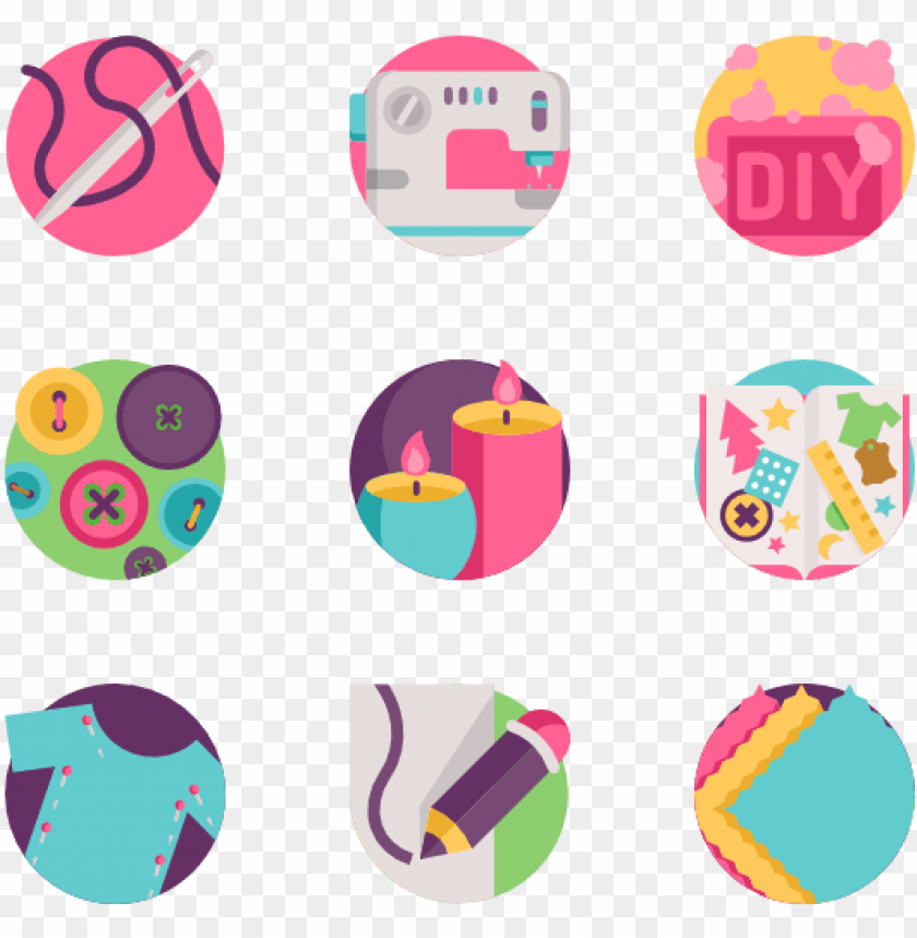 free PNG diy & crafts 50 icons - crafts diy icon png - Free PNG Images PNG images transparent