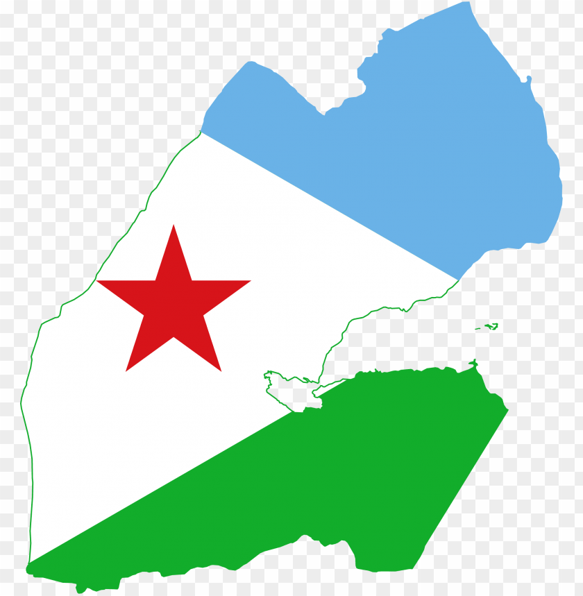 free PNG djibouti map and fla PNG image with transparent background PNG images transparent