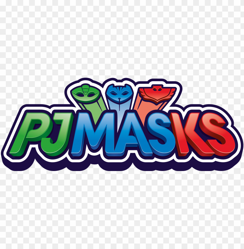 free PNG dna partners with entertainment one's pj masks to - pj masks logo PNG image with transparent background PNG images transparent