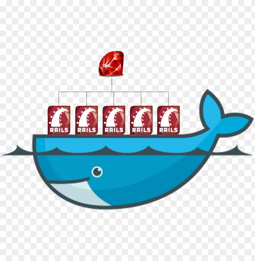 free PNG docker and rails, together in this post - mysql docker PNG image with transparent background PNG images transparent
