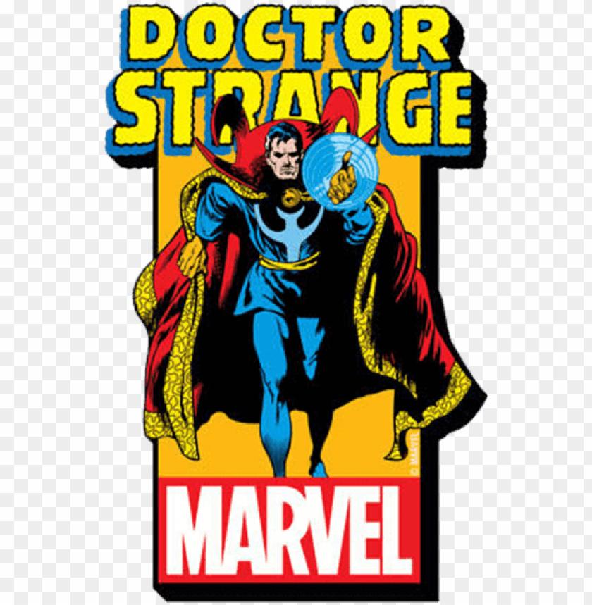free PNG doctor strange logo magnet - classic marvel comic dr strange PNG image with transparent background PNG images transparent