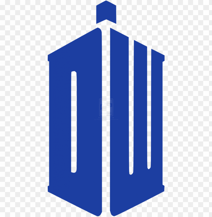 free PNG doctor who sticker by hourglass vectors on - doctor who tardis symbol PNG image with transparent background PNG images transparent