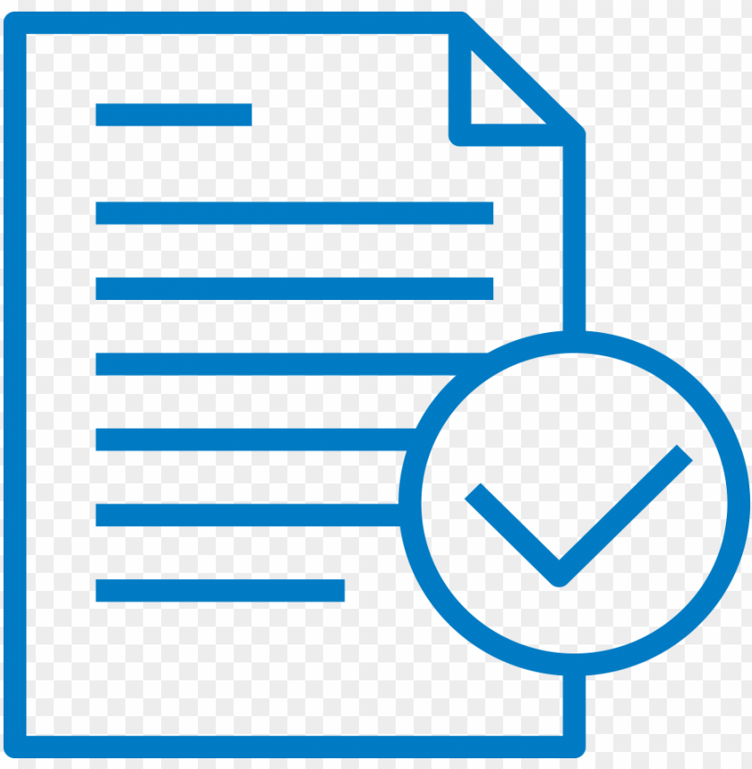 free PNG document check icon - customer experience icon PNG image with transparent background PNG images transparent
