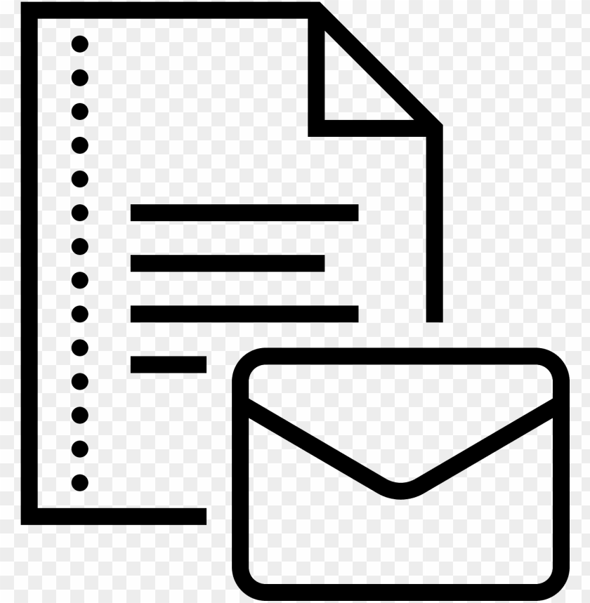 free PNG documento por correo electrón icon - email document icon png - Free PNG Images PNG images transparent