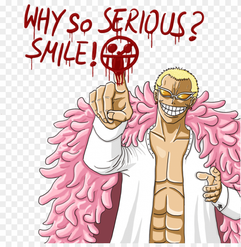 free PNG doflamingo why so serious PNG image with transparent background PNG images transparent