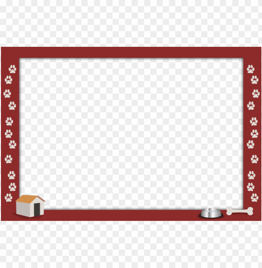 free PNG dog border png clipart dog borders and frames puppy - dog border PNG image with transparent background PNG images transparent