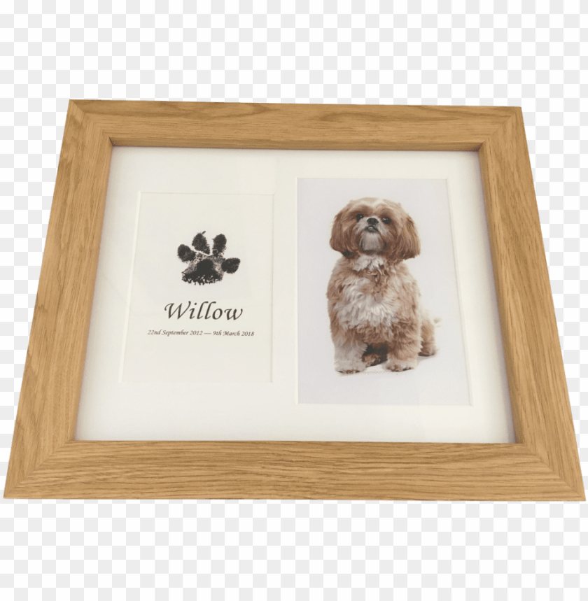 Dog Paw Print In Wood Frame With Photograph Using Inkless Picture Frame Png Image With Transparent Background Toppng To get more templates about posters,flyers,brochures,card,mockup,logo,video,sound,ppt,word,please visit pikbest.com. dog paw print in wood frame with