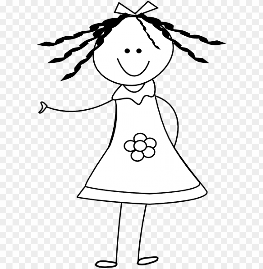 free PNG doll clip art - girl stick figure transparent background PNG image with transparent background PNG images transparent