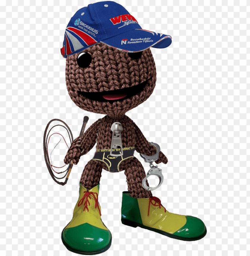 Dominating Sackboy Little Big Planet Head Png Image With Transparent Background Toppng