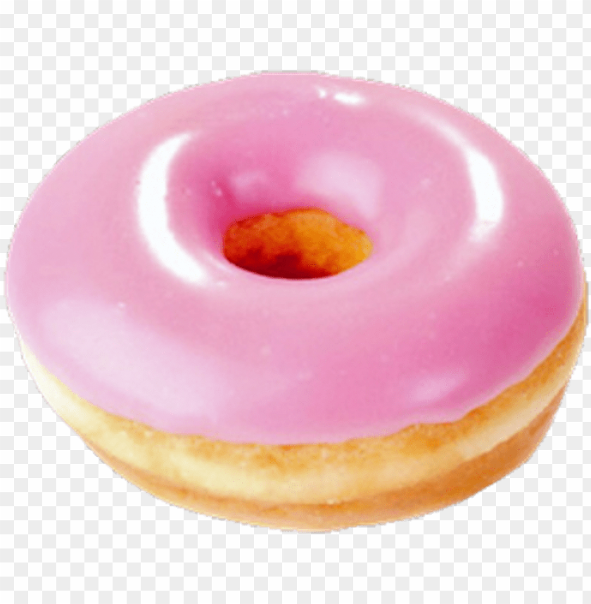 free PNG dona donut pink tumblr cute food png transparent transp - pink donut PNG image with transparent background PNG images transparent