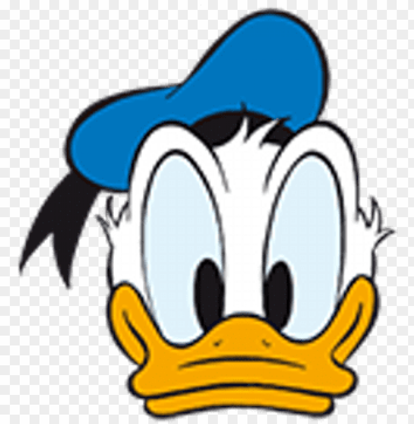 Donald Duck Head Png Cara De Pato Donald Bebe Png Image With