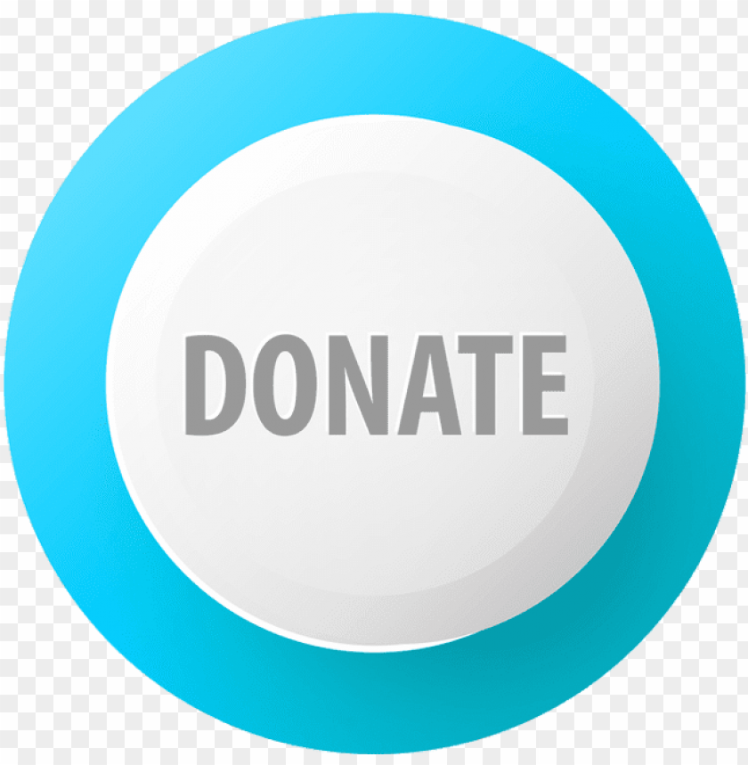 free PNG donate blue and white button PNG image with transparent background PNG images transparent