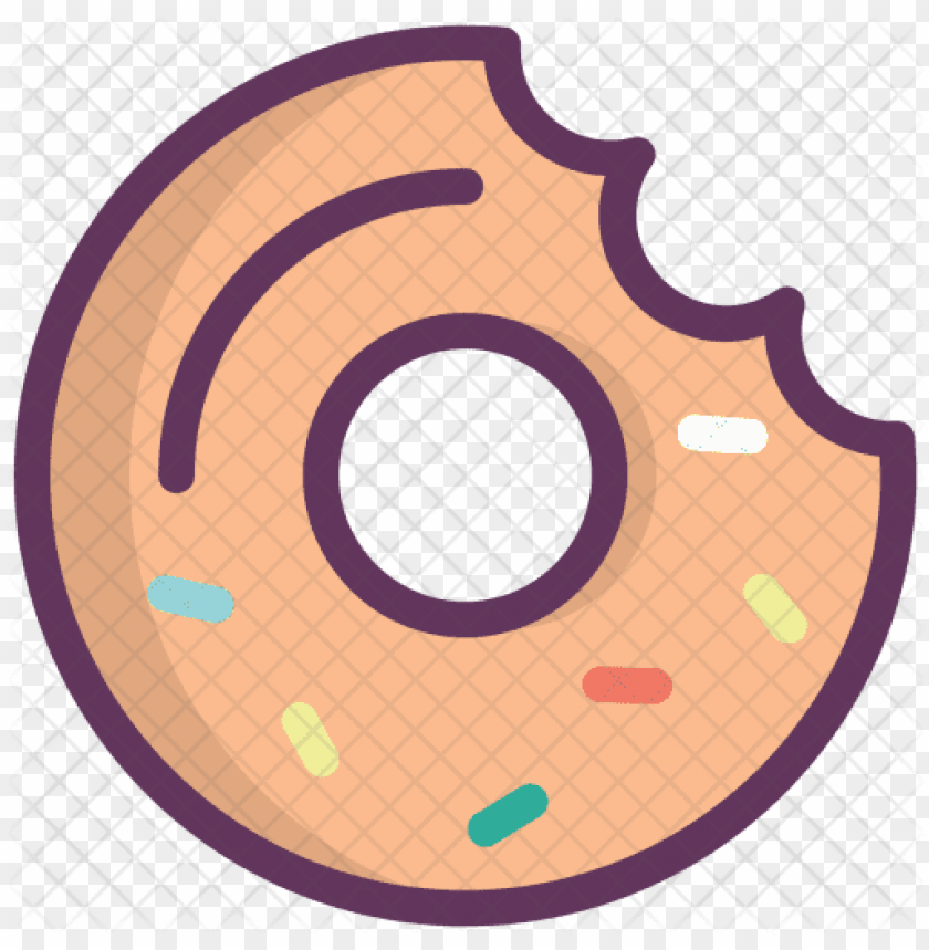 free PNG donut, doughnut, sweet, dessert, food, fastfood icon - doughnut PNG image with transparent background PNG images transparent