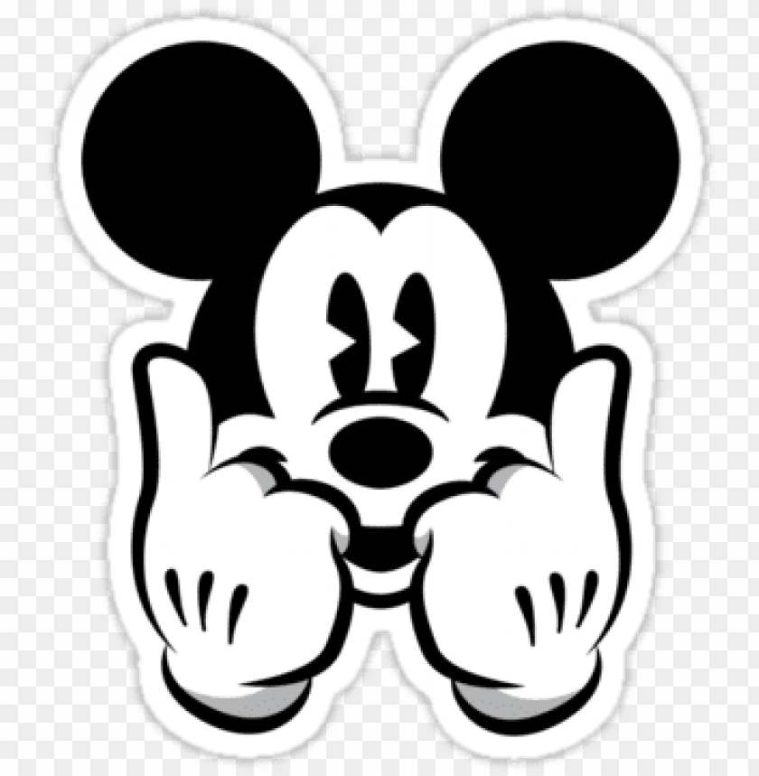 Dope Micky And Swag Image Dope Mickey Transparent Png Image