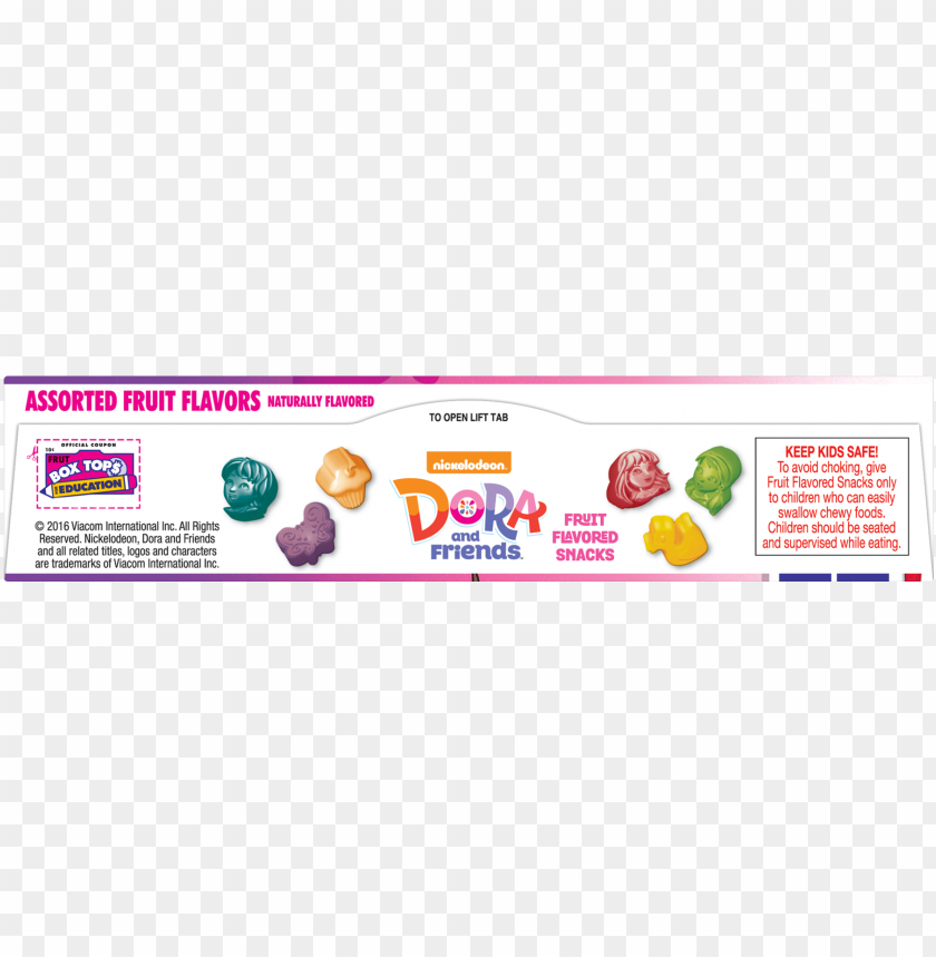 free PNG dora & friends fruit flavored snacks assorted flavors - dora and friends colouring & activity book (each) PNG image with transparent background PNG images transparent