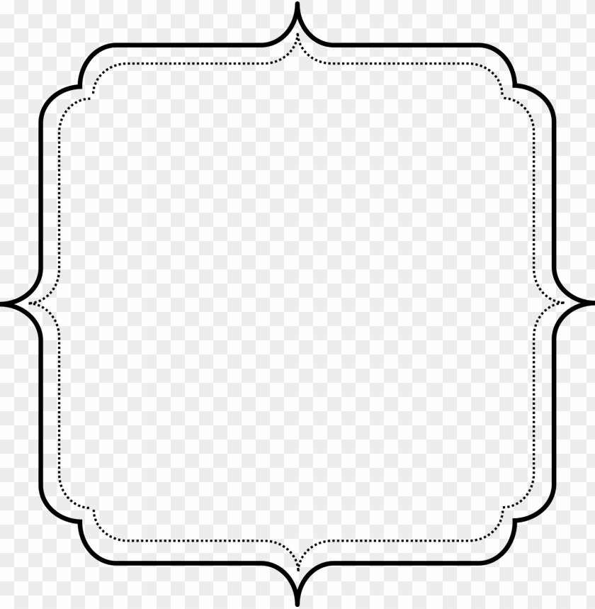 free PNG dot clipart line - simple border frame clipart PNG image with transparent background PNG images transparent