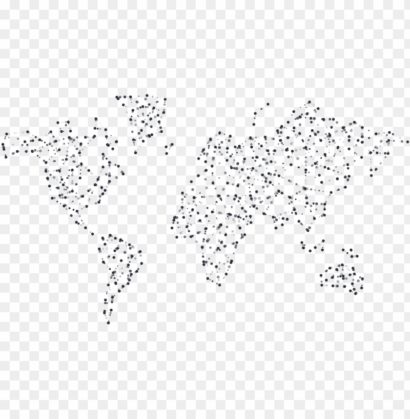 free PNG dots - abstract telecommunication world map PNG image with transparent background PNG images transparent