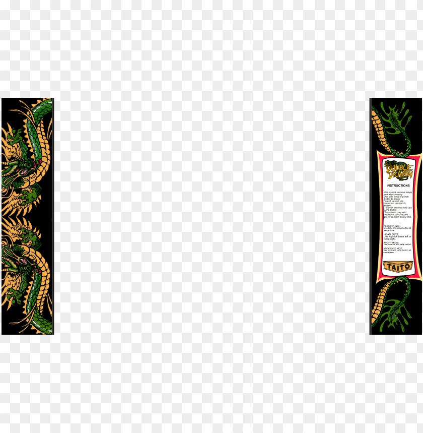 free PNG double dragon overlay PNG image with transparent background PNG images transparent