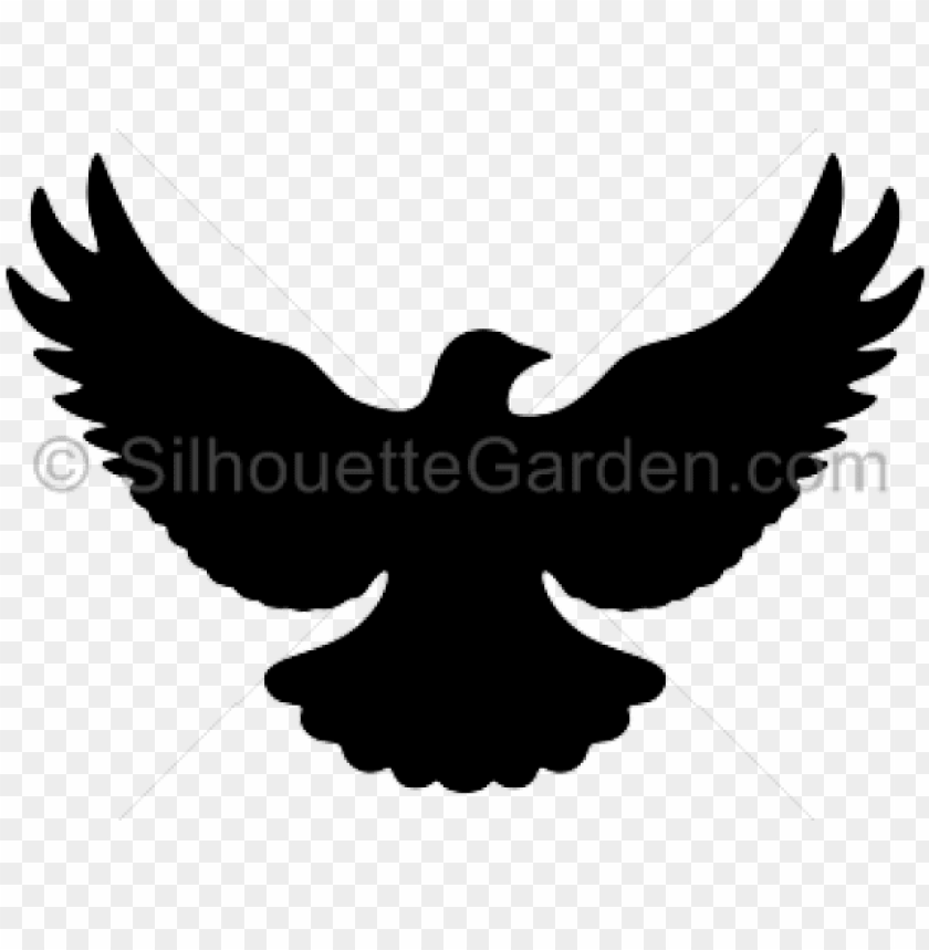 free PNG dove clipart silhouette - flying dove silhouette PNG image with transparent background PNG images transparent