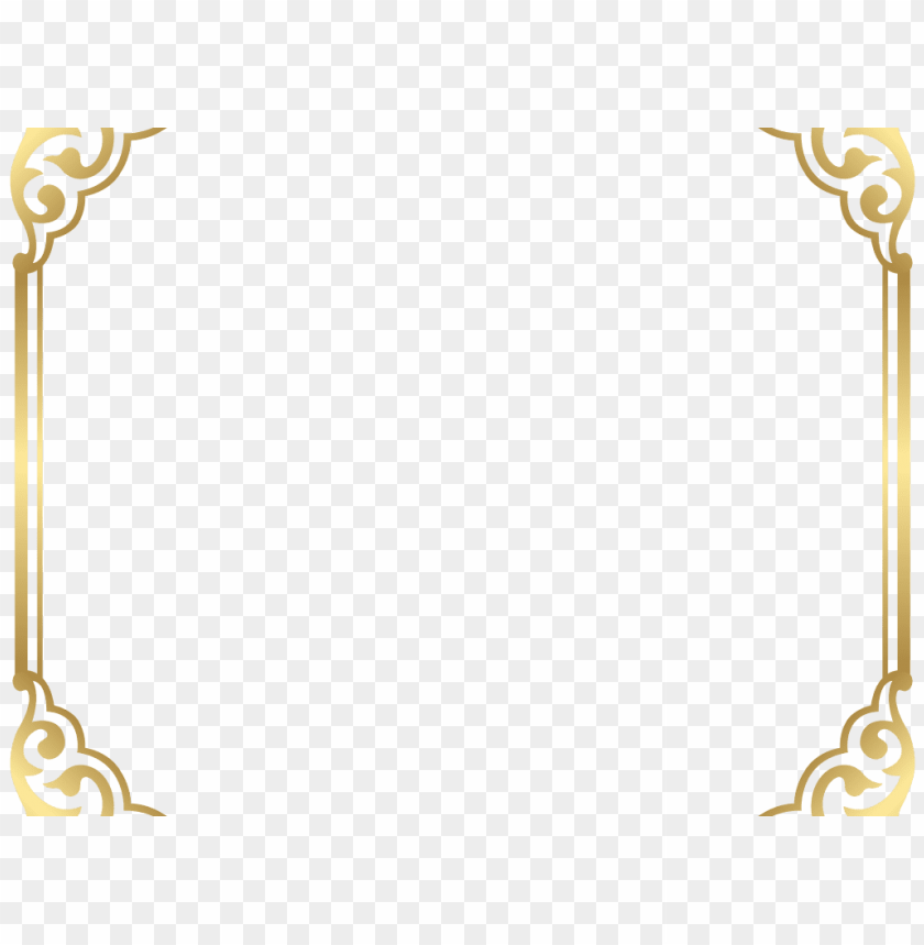 free PNG download fancy border clip art - gold frame border PNG image with transparent background PNG images transparent