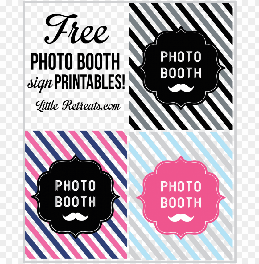 free PNG download free printable photo booth sign clipart photo - free photo booth signs PNG image with transparent background PNG images transparent