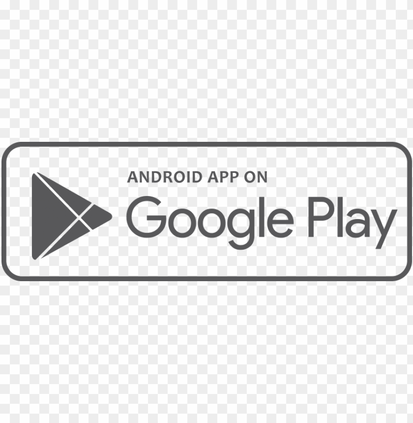 free PNG download google play png picture freeuse library - google play button white PNG image with transparent background PNG images transparent