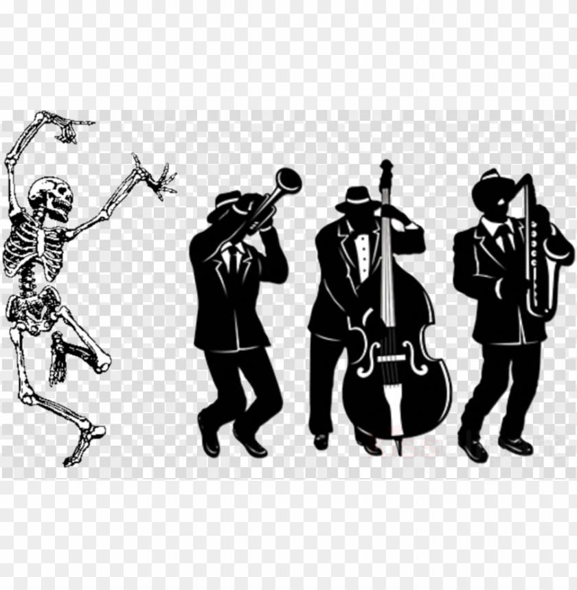 free PNG download great 20's jazz trio silhouette cutout decorations - great 20's jazz trio silhouette cutout decorations PNG image with transparent background PNG images transparent