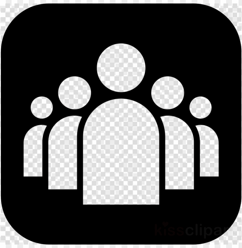 free PNG download group of people icon white png clipart computer - people icon white PNG image with transparent background PNG images transparent