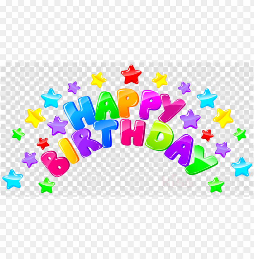 free PNG download happy birthday png clipart birthday clip art - happy birthday text PNG image with transparent background PNG images transparent