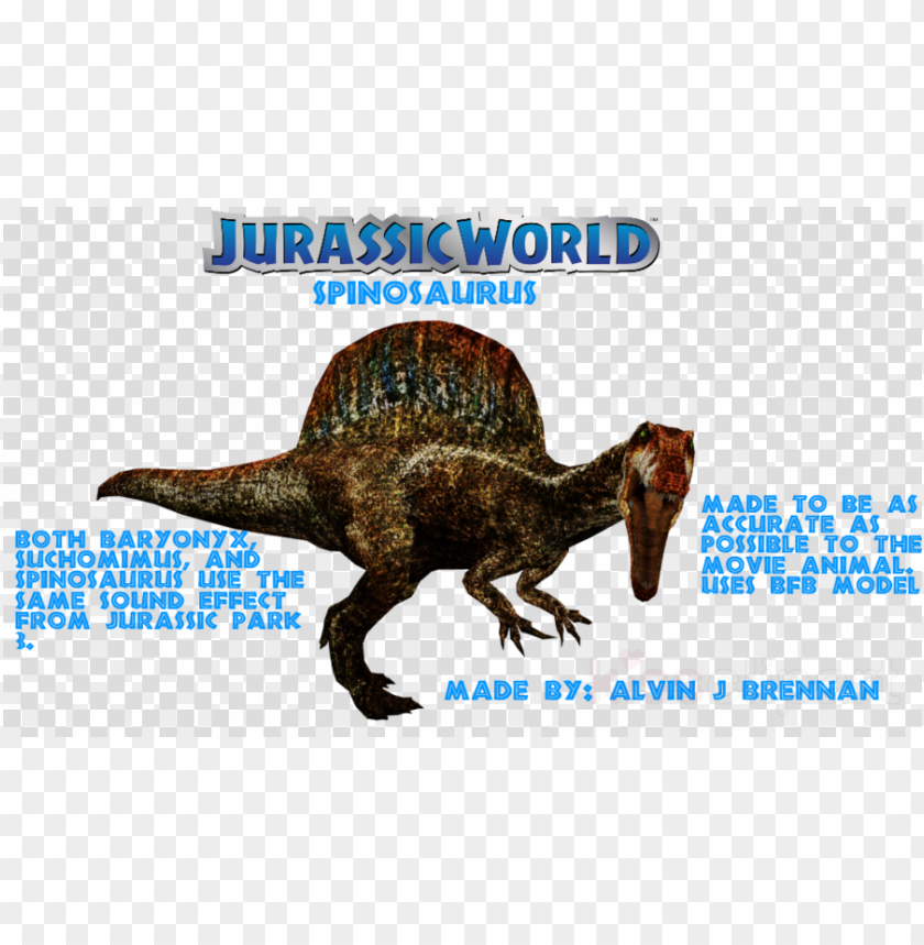 free PNG download jurassic world evolution spinosaurus clipart - clip art PNG image with transparent background PNG images transparent