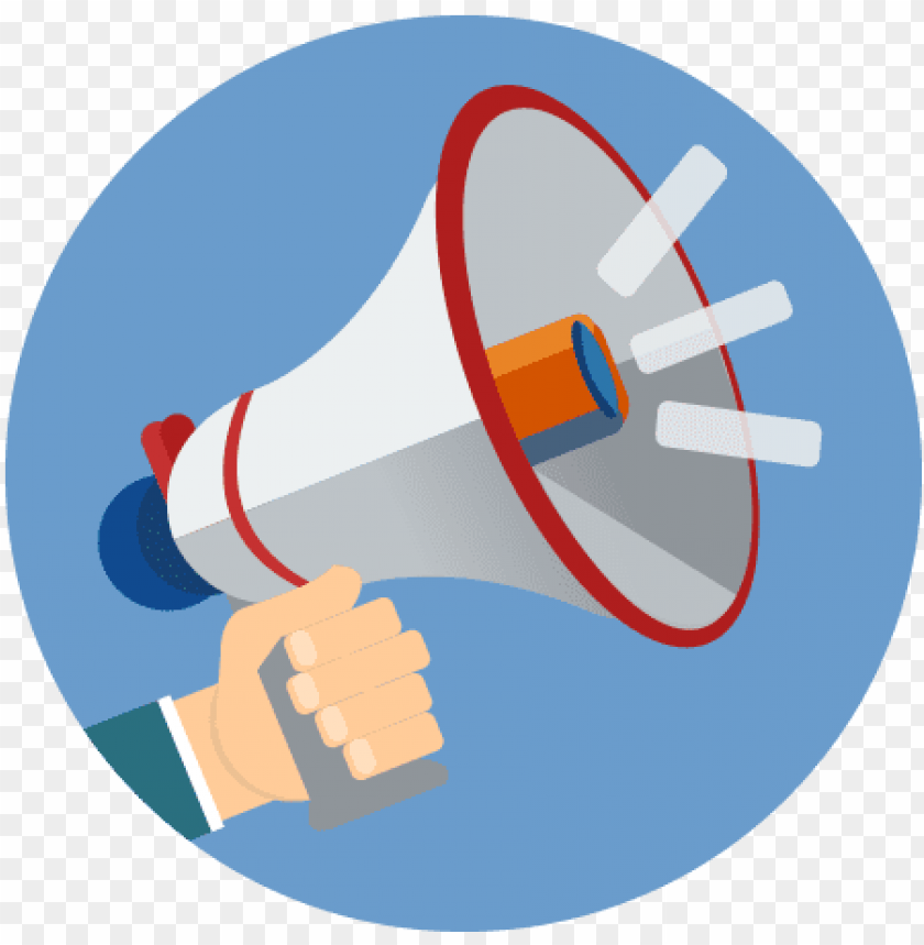 free PNG download - megaphone flat icon PNG image with transparent background PNG images transparent