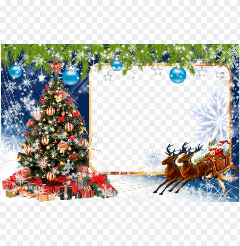 free PNG download merry christmas jpg frame clipart christmas - merry christmas foto frame PNG image with transparent background PNG images transparent