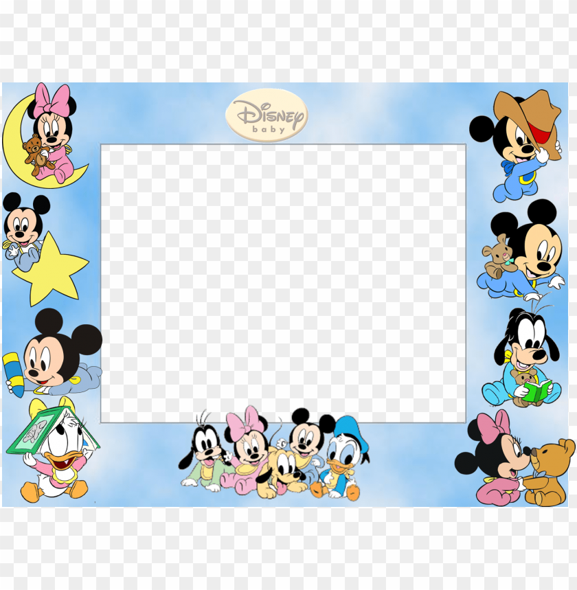 free PNG download molduras em png baby disney clipart mickey - mickey mouse baby PNG image with transparent background PNG images transparent