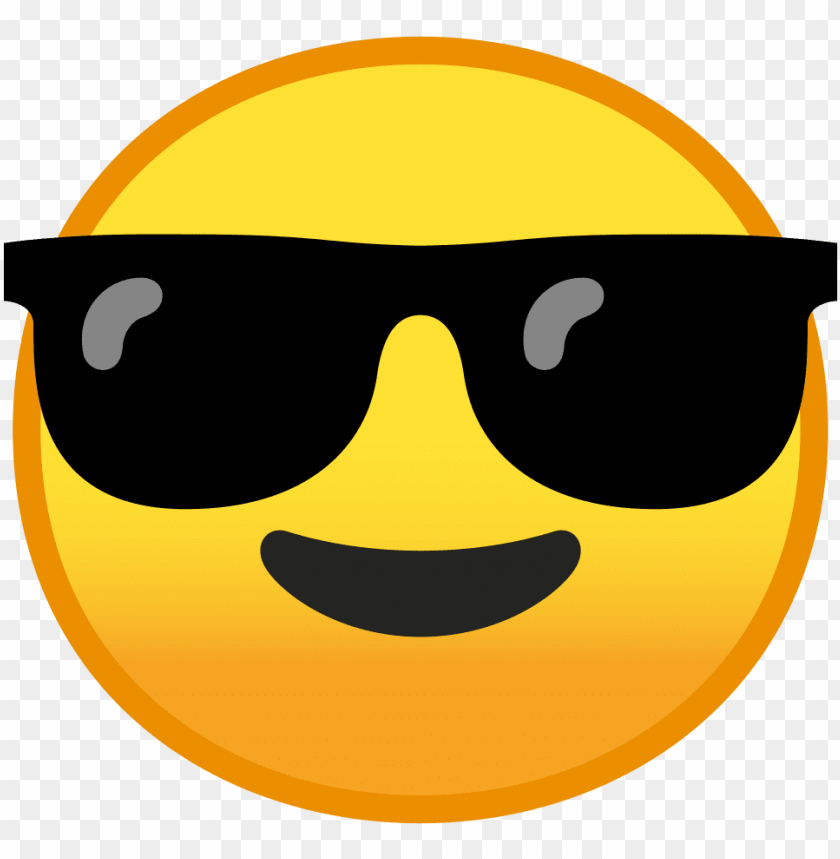 free PNG download svg download png - emoji face with sunglasses PNG image with transparent background PNG images transparent