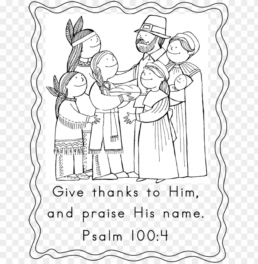 Download Thanksgiving Bible Coloring Pages 24 With Thanksgiving Scripture Coloring Page Png Image With Transparent Background Toppng