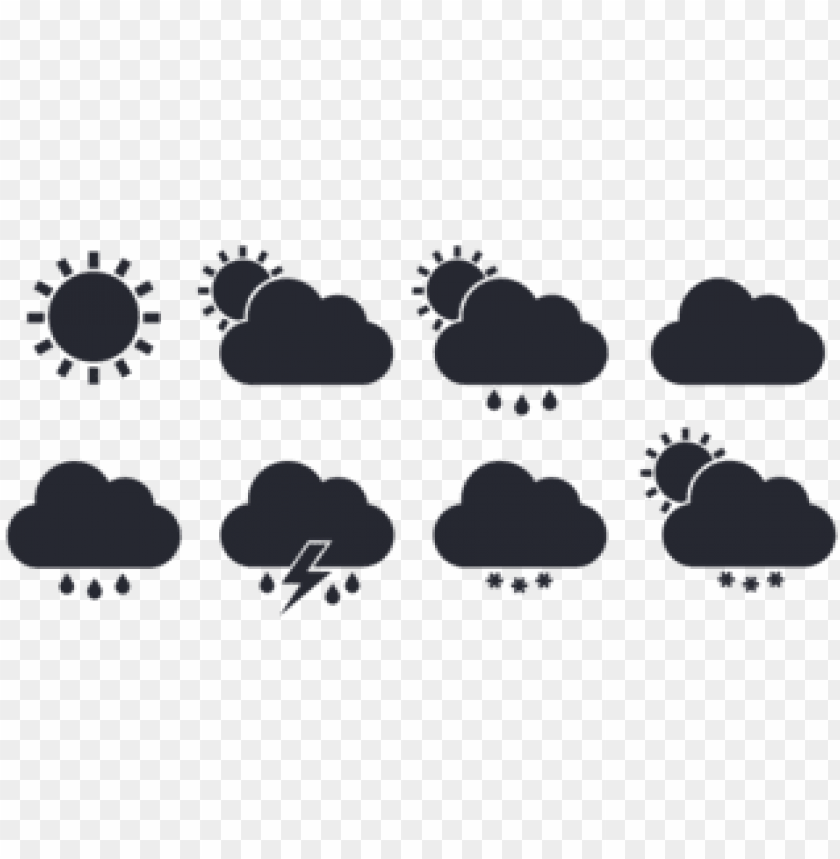 free PNG download the free weather icons set - flat weather icon PNG image with transparent background PNG images transparent