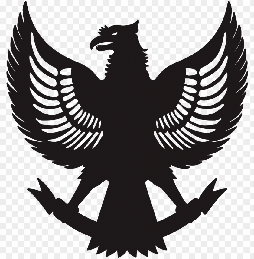 free PNG download vector siluet garuda cdr & png hd - bhineka tunggal ika PNG image with transparent background PNG images transparent