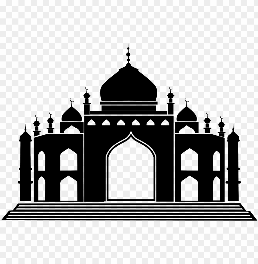 free PNG download vector siluet masjid cdr & png hd - islamic architecture clipart PNG image with transparent background PNG images transparent