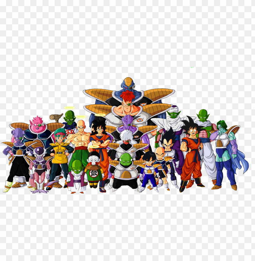 Dragon Ball Z Png Image With Transparent Background Toppng