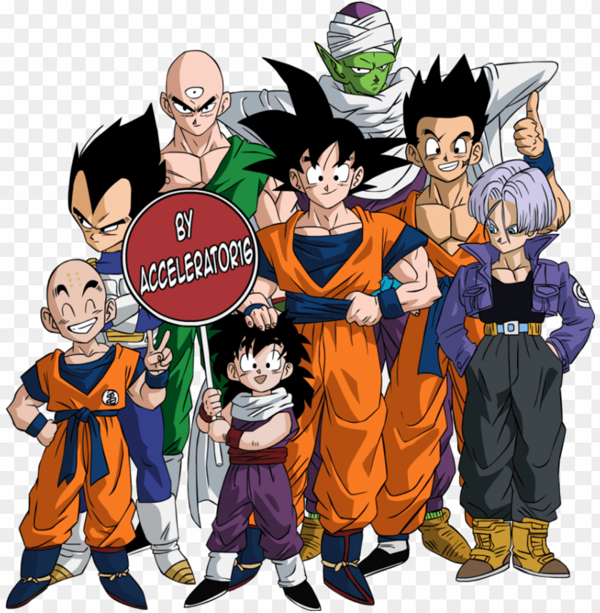 free PNG dragon ball z characters png photos - dragon ball z PNG image with transparent background PNG images transparent