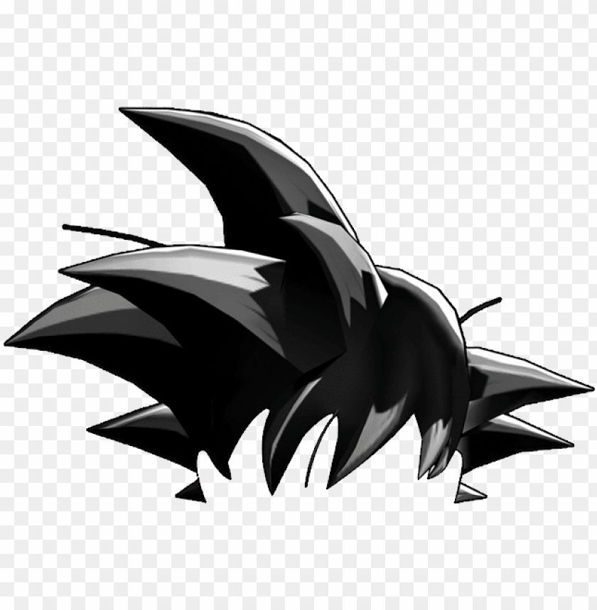 dragon ball z s spiky hair quiz vulture - goku black hair PNG image with transparent background@toppng.com