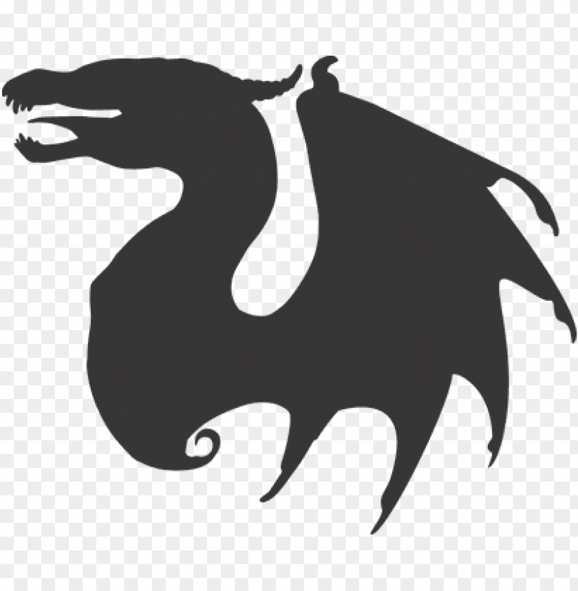 free PNG dragon dragon vector dragon silhouette ani - dragon silhouette PNG image with transparent background PNG images transparent