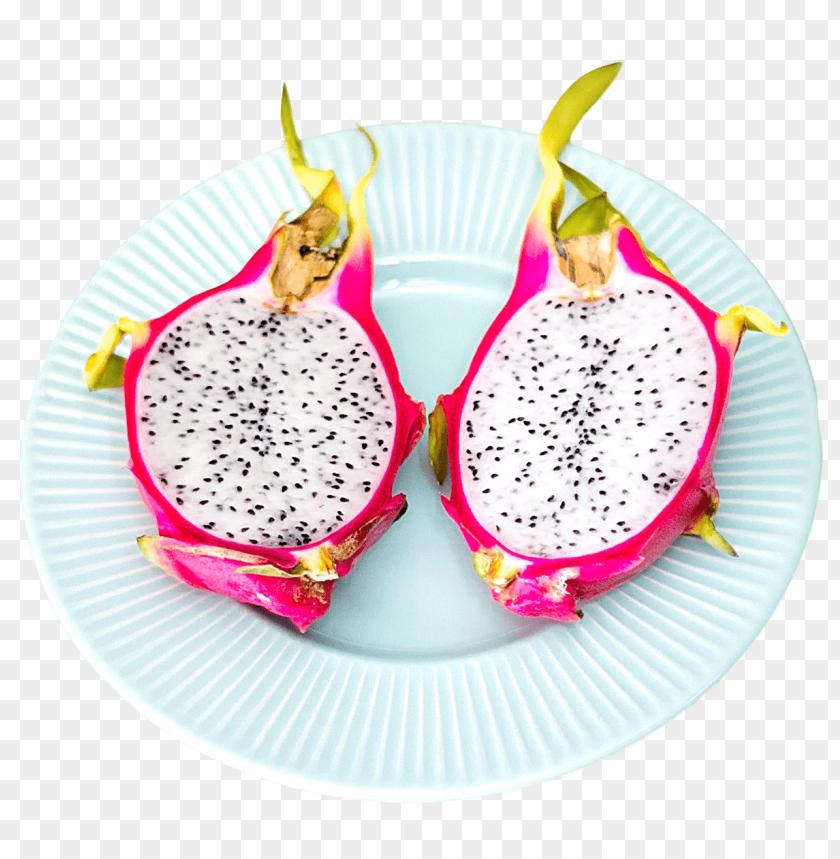 free PNG Download dragon fruit on plate png images background PNG images transparent