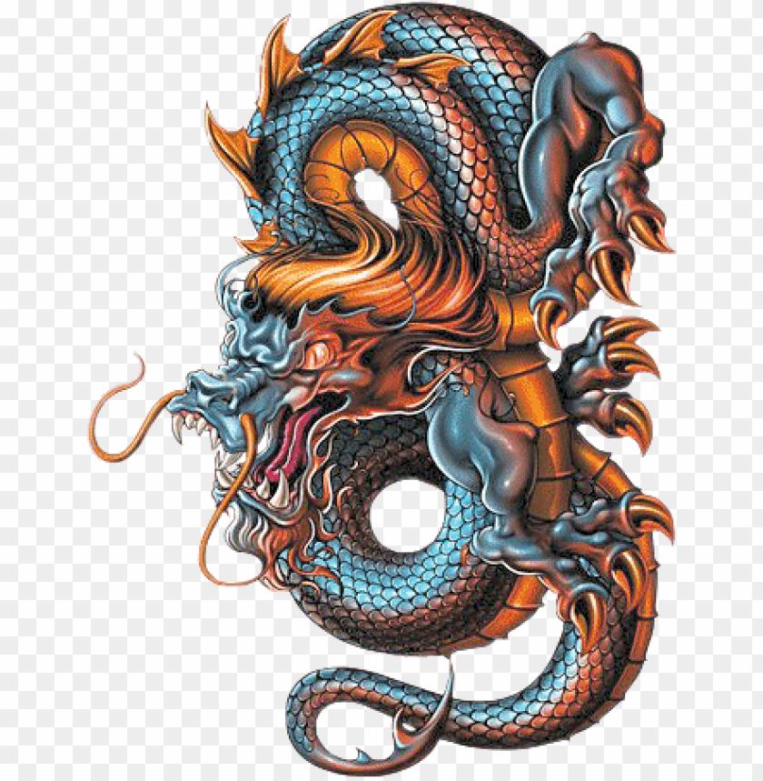free PNG dragon sketchbook - google search - dragon tattoo design color PNG image with transparent background PNG images transparent