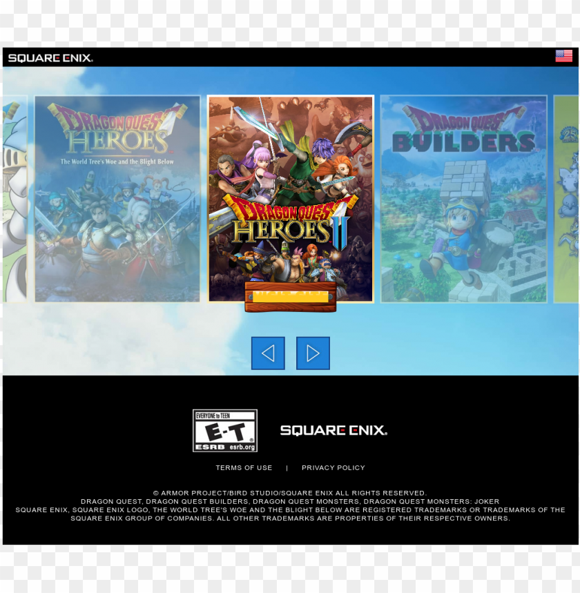 free PNG dragonquestviii website history - square enix dragon quest heroes ii ee ps4 PNG image with transparent background PNG images transparent