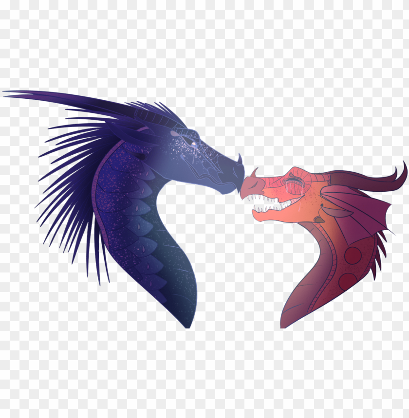 free PNG dragons - wings of fire dragons love PNG image with transparent background PNG images transparent